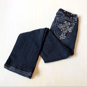 Miss Me Dark Wash Bootcut Jeans 27